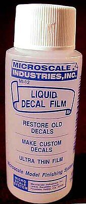 Microscale LIQUID DECAL FILM - Advanced Modeling Liquid