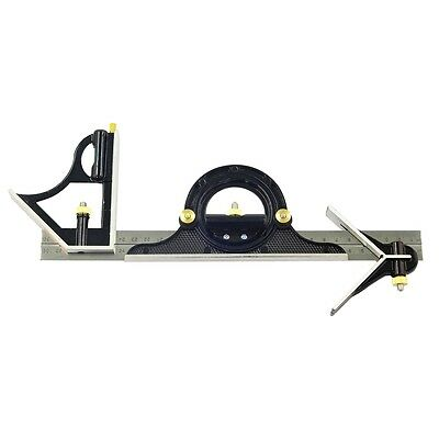 300mm Mini Combination Square - Rolson Set With Protector Level Measuring Tool