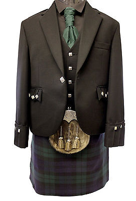New  Black Watch 5 Yard Full Highland Dress Kilt Package £499  Sale  Now £375