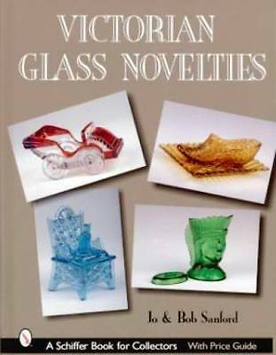 Victorian Glass Novelty book Toothpick Candy Perfume ++
