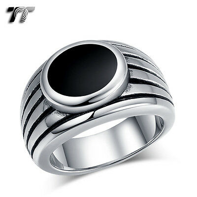 High Quality TT 316L Stainless Steel Band Ring (RZ166) NEW