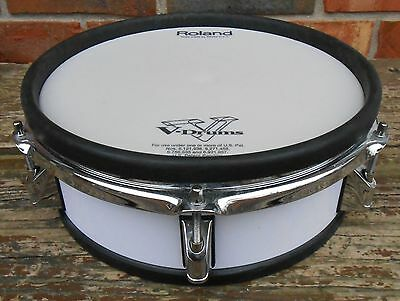 Roland PD-105 WHT Dual Trigger Electronic Drum Pad White PD105