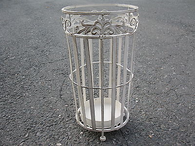 Metal Umbrella stand rack in Country House Style 45,5 cm