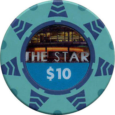 THE STAR $10 Casino Chip Sydney New South Wales Australia