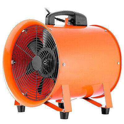 Utility Blower 12 Inch 0.7HP 2295 CFM 3300 RPM Portable Fan Ventilator 0.7HP