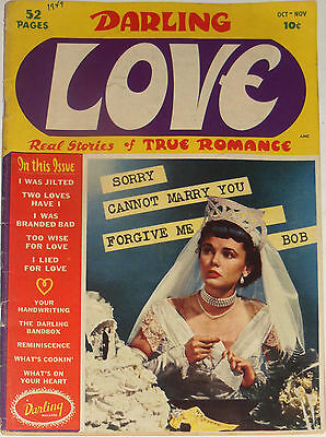 Darling Love #1~Romance~1949~Very Good~Golden Age~Archie Publ.
