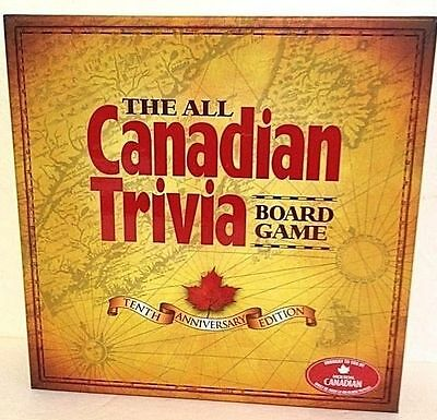 2007 The All Canadian Trivia Board Game Canada