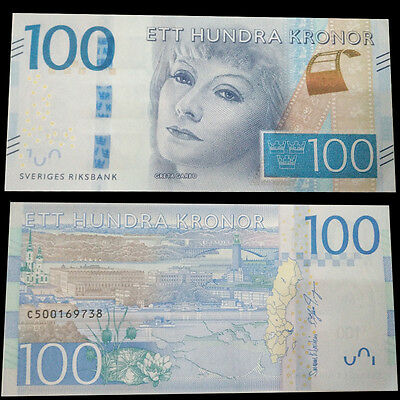 Sweden 100 Kronor, 2016, P-New, NEW DESIGN, UNC