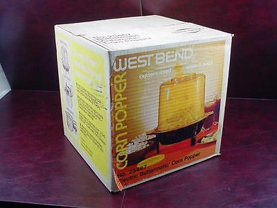 NEW in SEALED BOX * VINTAGE Westbend CORN POPPER Electric Buttermatic No. 25467