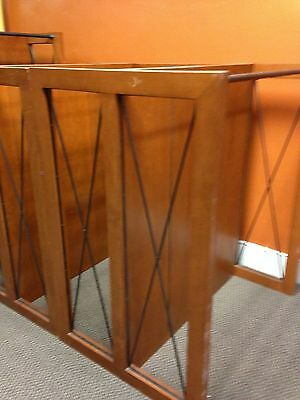 Commercial Store Display Double Sided Shelving Clothing Racks
