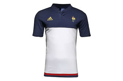 adidas France 2016 Players Anthem Rugby Polo Shirt