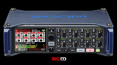 Zoom F8 Multi Track Field Recorder Eng Recording Brand New With Free Shipping