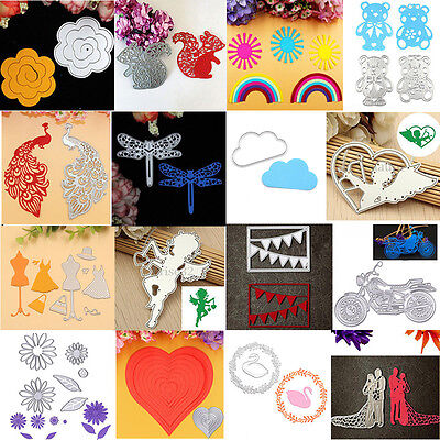 16 Patterns Metal Cutting Dies Stencils For DIY Scrapbooking Paper Cards Crafts