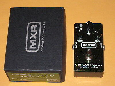 used generally clean some imperfections MXR M169 Carbon Copy Analog Delay + box
