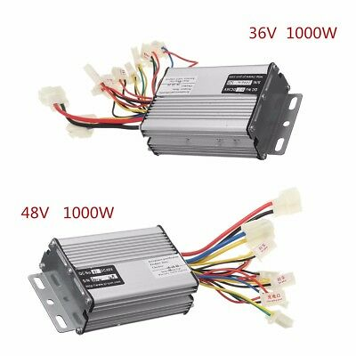 36V/48V 1000W Electric Scooter Speed Controller Motor Brush For Vehicle Bicycle