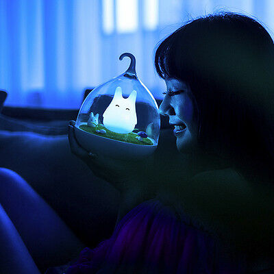 LED Night Lights Lamp Touch Sensor Cute Light +USB Cable For Home Decor NEW