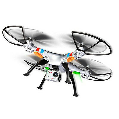 SYMA X8G 2.4GHZ 4CH 5MP HD Camera RC QUADCOPTER Drone Helicopter HD CAM