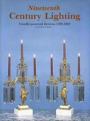 1783-1883 Candle Lighting Collector Reference 396 pics w Candelabras Chandeliers