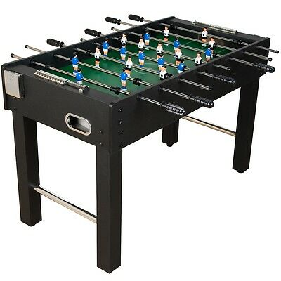 Table football Glasgow Black incl. Accessories Foosball Kicker