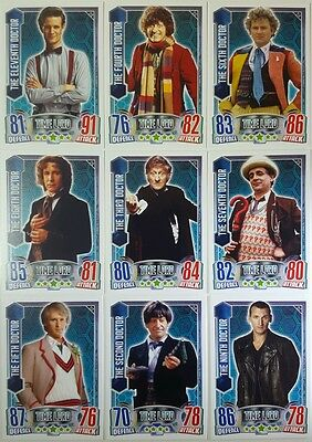 DOCTOR WHO  / ALIEN ATTAX  Trading Card Set of  192    Topps UK   #  49 - 240