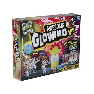 Childrens/Kids Science Experiment Glow In The Dark Kit/Set Educational Toy