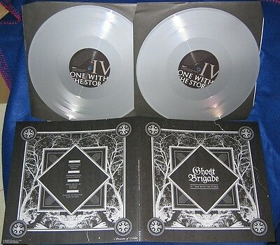 GHOST BRIGADE- IV-One With The Storm LIM. 2LP SET silver vinyl ala SATURNUS/NEUR