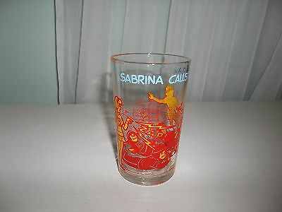 Vintage 1973 Archie Comics SABRINA CALLS THE PLAY Jelly Glass