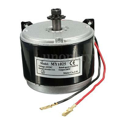 24V Electric Motor Brushed 250W 2750RPM 2-Wired Chain Drive For E Bike Scooter
