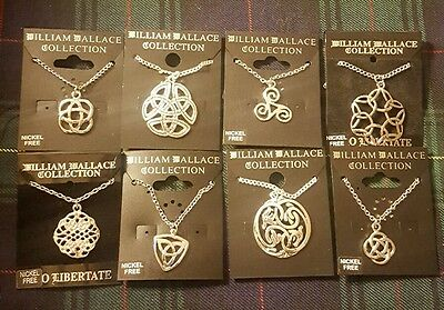 Job Lot X 8 Scottish Jewellery Necklace Pendant William Wallace Collection Ww1