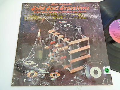 solid  soul  sensations ( disco demands ) album  on pye records various artists