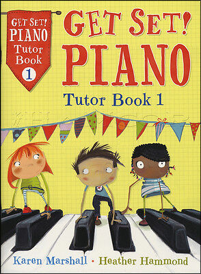 Get Set Piano Tutor 1 Sheet Music Book Learn How To Play Method