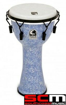 Toca TOCF2DM10LV 10 inch Mechanically Tuned Djembe Lavender Hand Drum