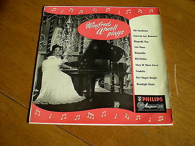 Winifred Atwell - Plays = Philips Bbr 8020 = 10 Inch Lp