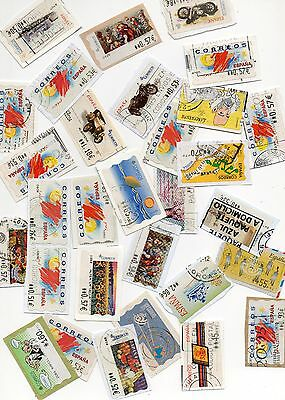 Spain Automatic Machine Labels Postage Stamps please see scans