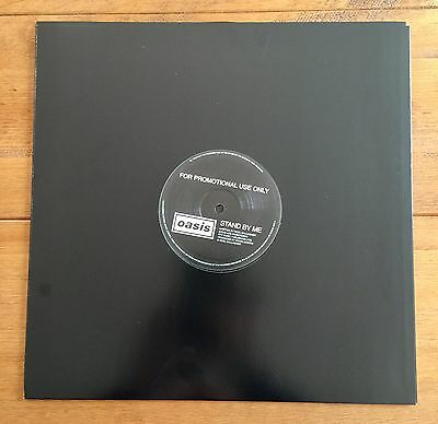 """Oasis - Stand By Me  12"""" Promo Vinyl"""