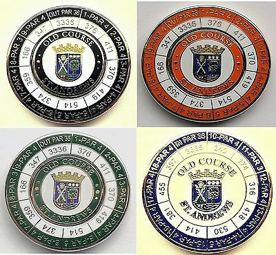 Old Course St. Andrews Yardage Düo Marker With Removable 24.5mm Golf Ball Marker