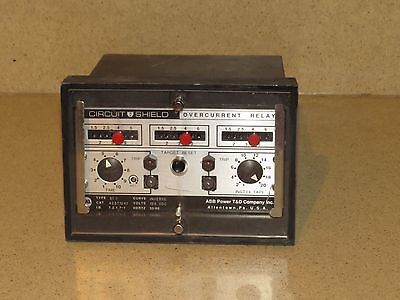 Abb Power T& D Co Circuit Shield Overcurrent Relay Type 51I Cat 423T1241 (G1)