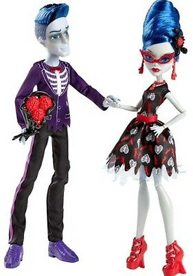 Monster High Dolls  Sloman Mortavich & Ghoulia Yelps Twinpack New In Box
