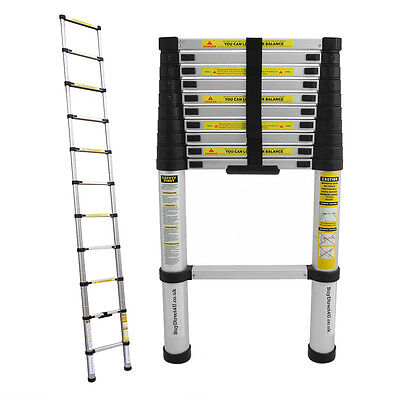 3.2M Bentley Telescopic Extendable Extension Ladder With En Certificates