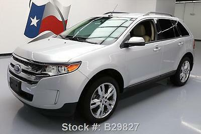 """2013 Ford Edge SEL Sport Utility 4-Door 2013 FORD EDGE SEL HTD LEATHER REAR CAM 20"""" WHEELS 57K #B29827 Texas Direct Auto"""