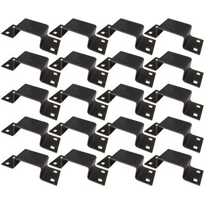 (20) New Bolt-on Truck Trailer Tie Down Anchor Point 12 ga Steel Stake Pockets