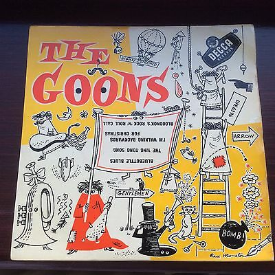 The Goons Bluebottle Blues Ying Tong Song UK EP