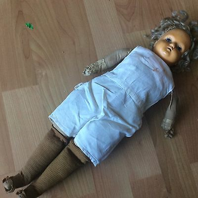 """Vintage R&B  Composition Baby Doll 16"""""""
