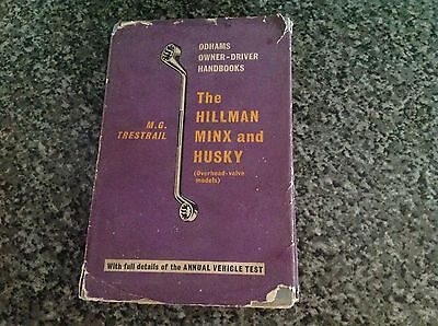 the hillman minx and husky odhams owner drivers handbook