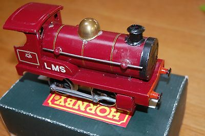 HORNBY SERIES O GAUGE No O LOCO IN LMS RED LIVERY BOXED REFURBISHED
