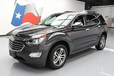 2016 Chevrolet Equinox  2016 CHEVY EQUINOX LTZ AWD HTD LEATHER REAR CAM 10K MI #317333 Texas Direct Auto