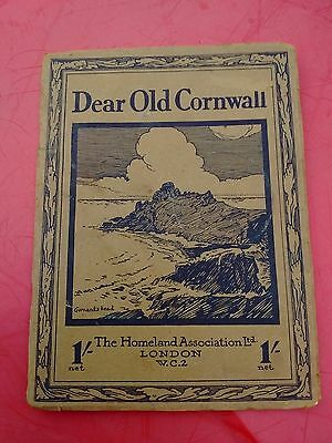 Old Cornish Book Dear Old Cornwall By The Homeland Ass. Camera Pic's Of Duchy