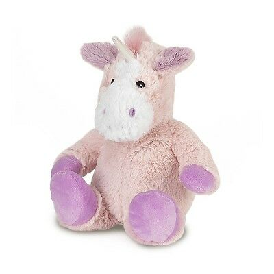 Warmies Cosy Plush Pink Unicorn Lavender Scented Microwavable Soft Toy CP-UNI-1