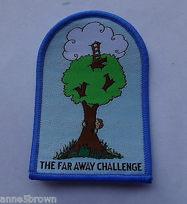 Mint The Far Away Challenge Badge By Girlguiding Dursley District