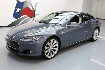 2014 Tesla Model S  2014 TESLA MODEL S P85+ TECH HEATED SEATS NAV 21'S 15K #P49090 Texas Direct Auto